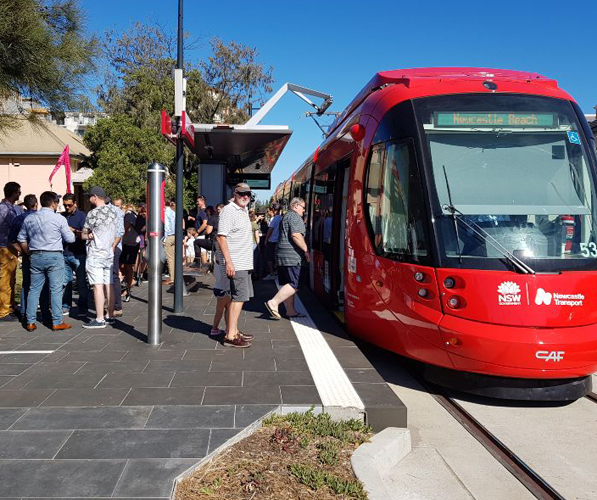 Downer: Time-Saving Safety on the Newcastle Light Rail Project