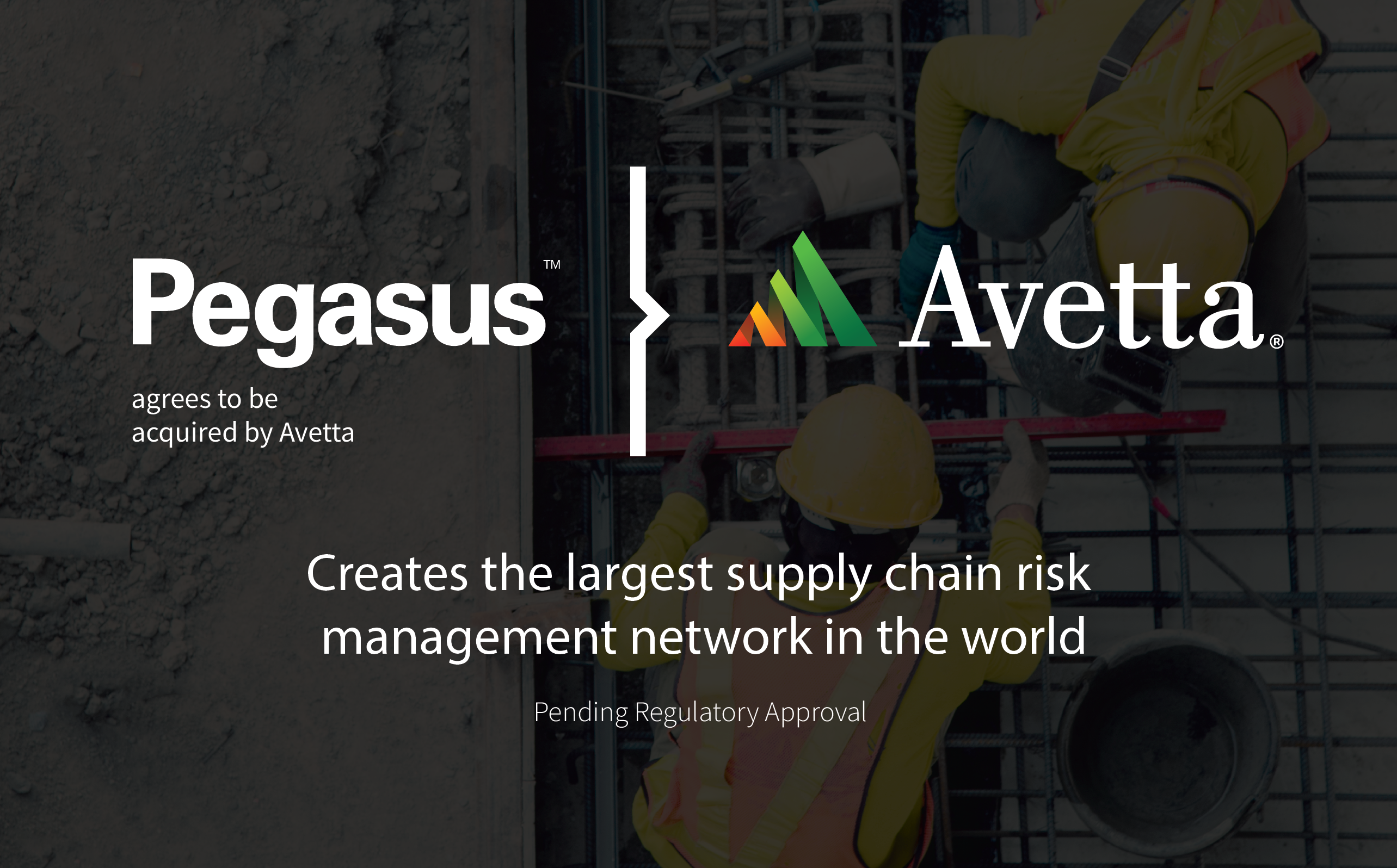 Australian Software Leader Pegasus Agrees To Be Acquired by US-based Avetta